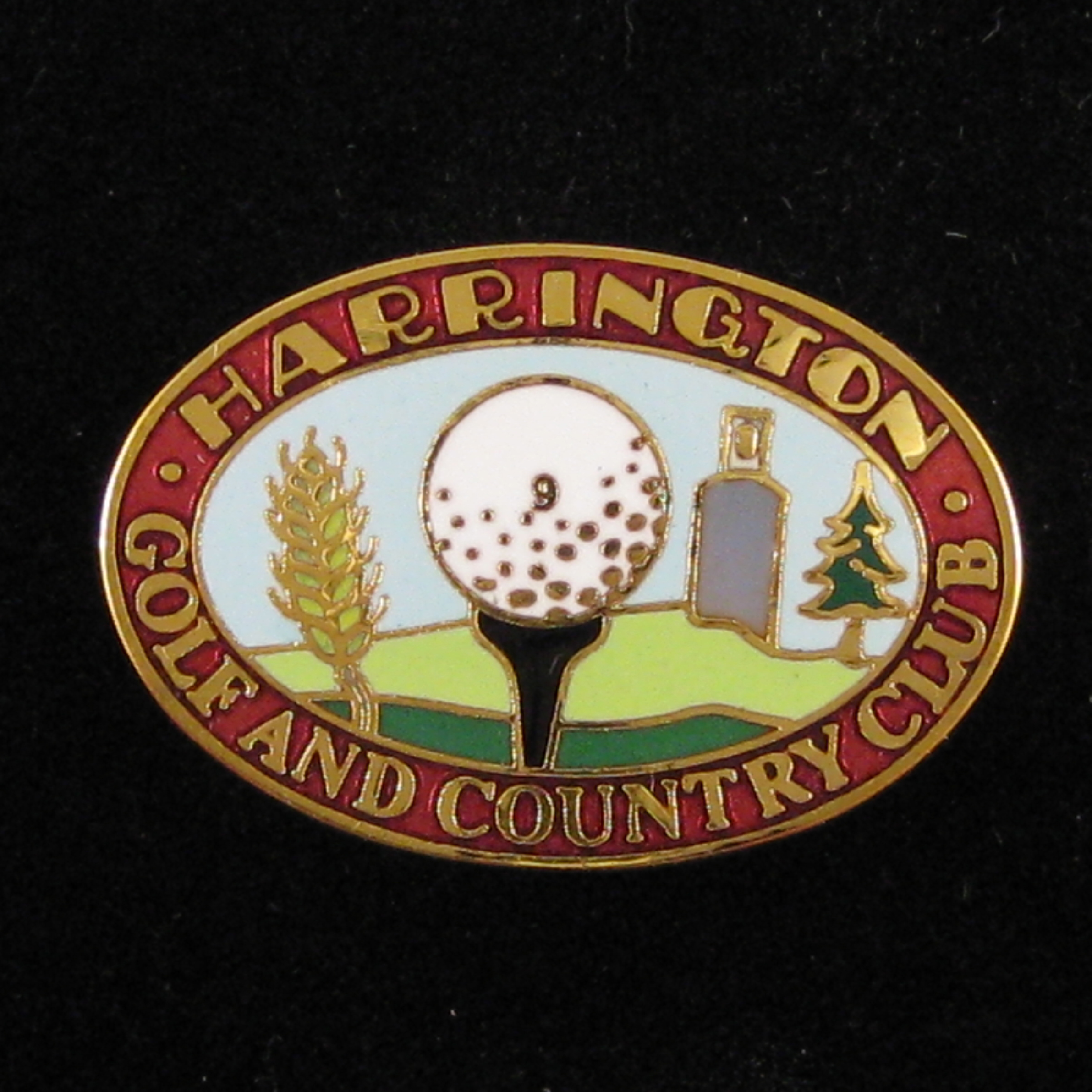 Harrington Golf Club - Front Red