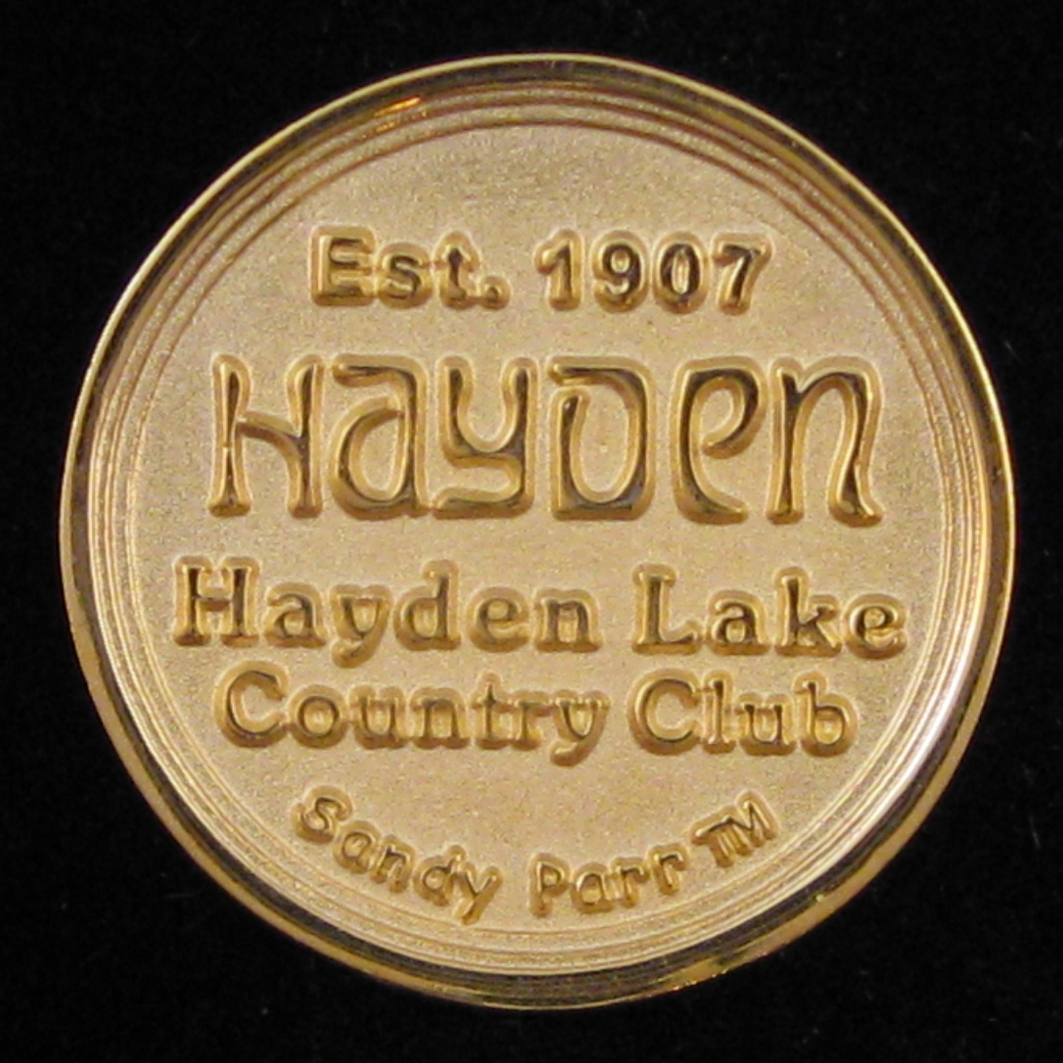 Hayden Lake C.C. - Back