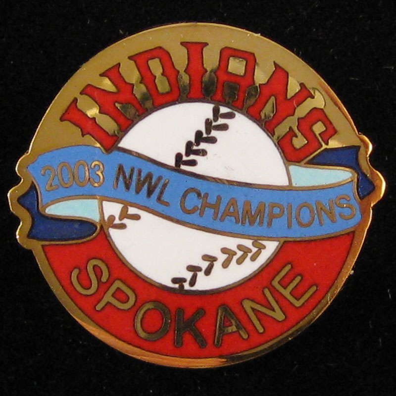 Spokane Indians '03 NWL Champs - Front