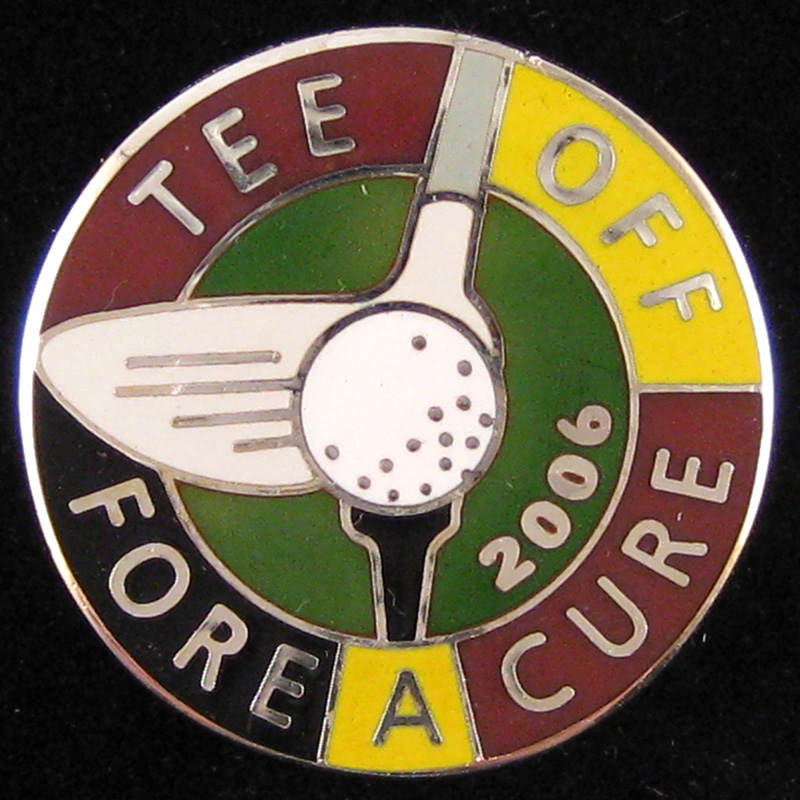 Tee Off Fore A Cure - Front