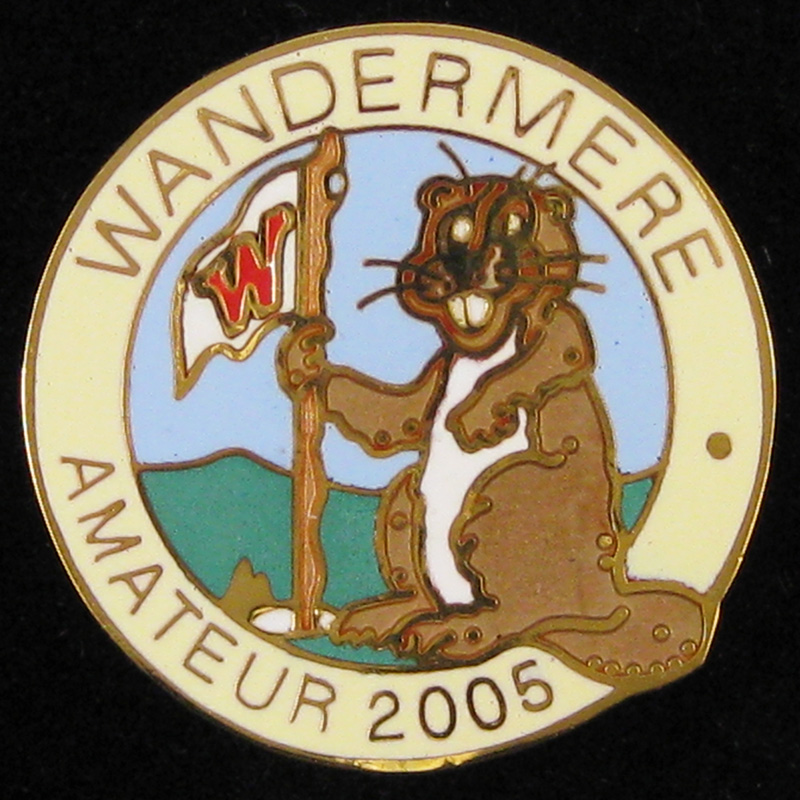 Wandermere Amateur 2005, 35th year - Front
