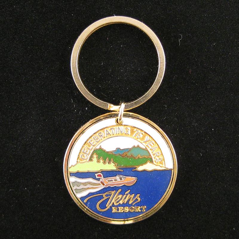 Elkin's Resort, Priest Lake 75 years - Key Chain