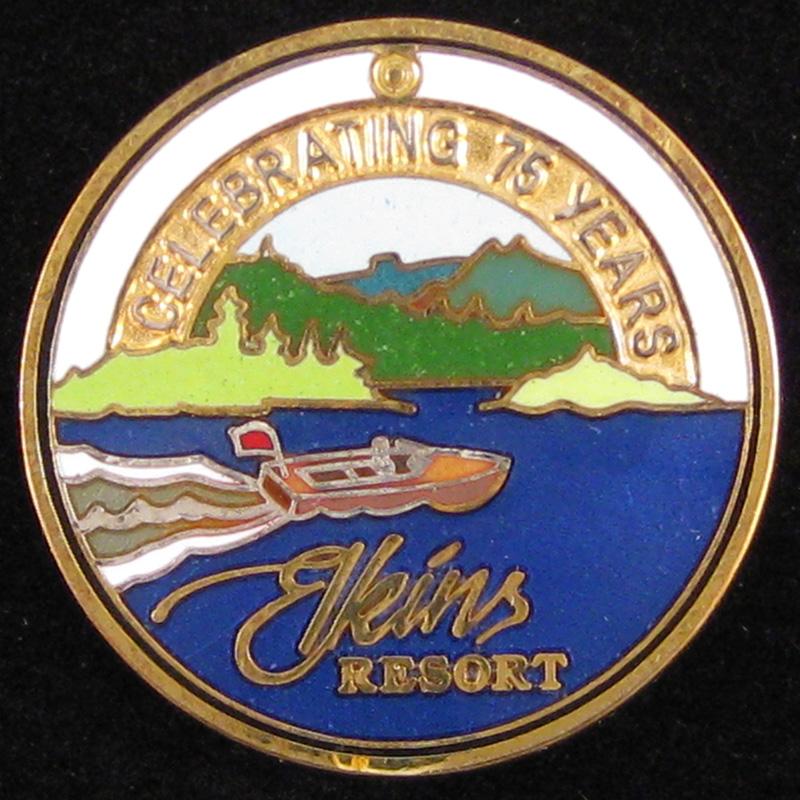 Elkin's Resort, Priest Lake 75 years - Front