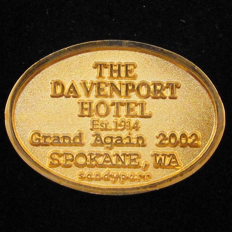 Davenport Hotel - Back Pendant