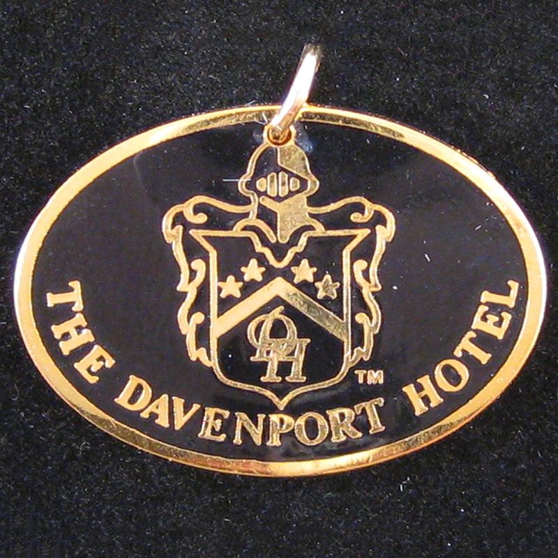 Davenport Hotel - Front Pendant