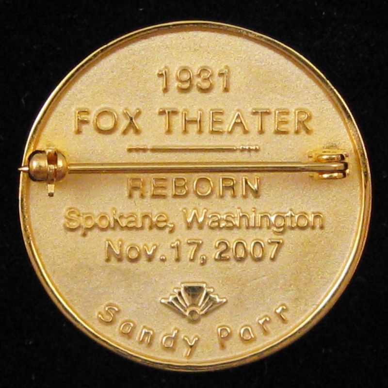 Fox Theater 2007 - Back
