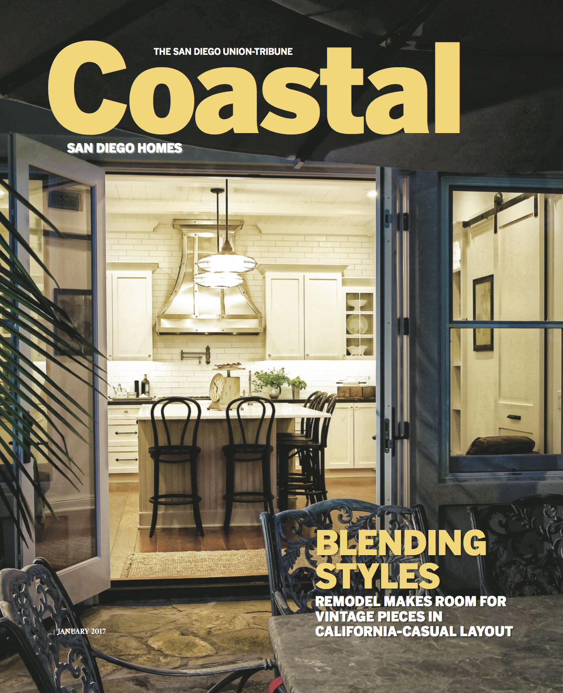 'Country Meets City' Coastal San Diego Homes - January 2017