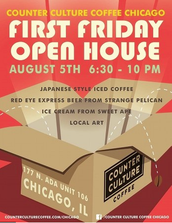 Counter Culture Coffee's First Friday Open House (2011)