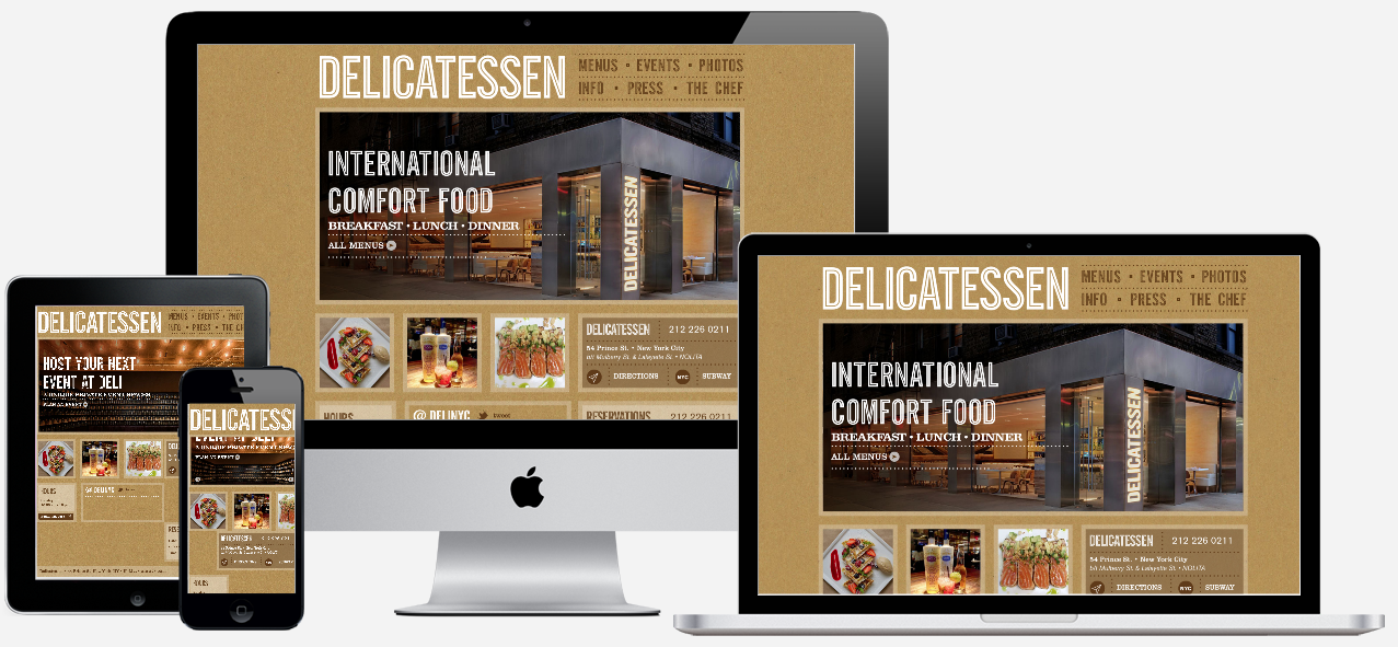 DELICATESSEN     — VIEW PROJECT ➤