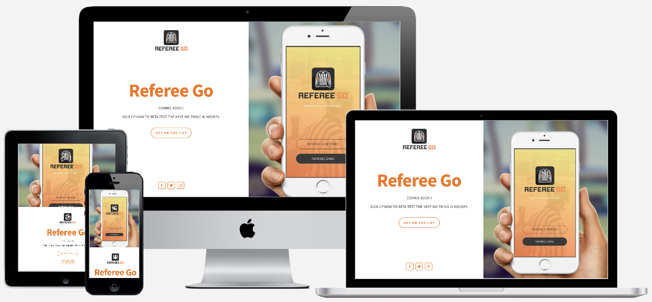 REFEREE GO          — VIEW PROJECT ➤