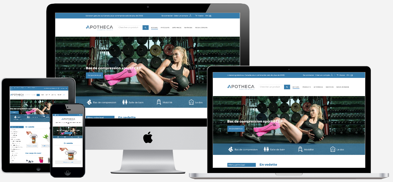 APOTHECA     — VIEW PROJECT ➤