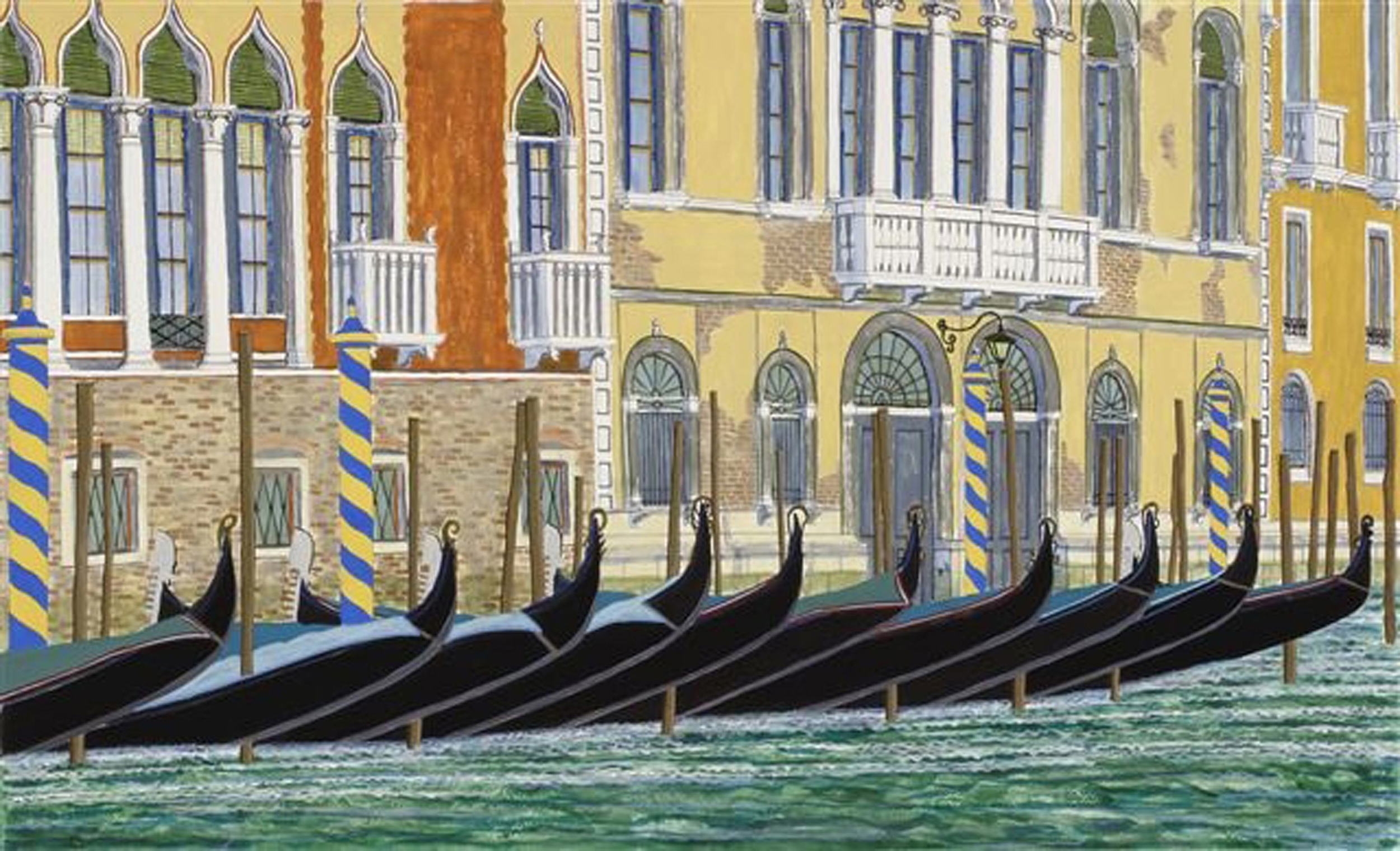Gondolas of the Grand Canal