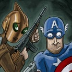 Captain America / The Rocketeer