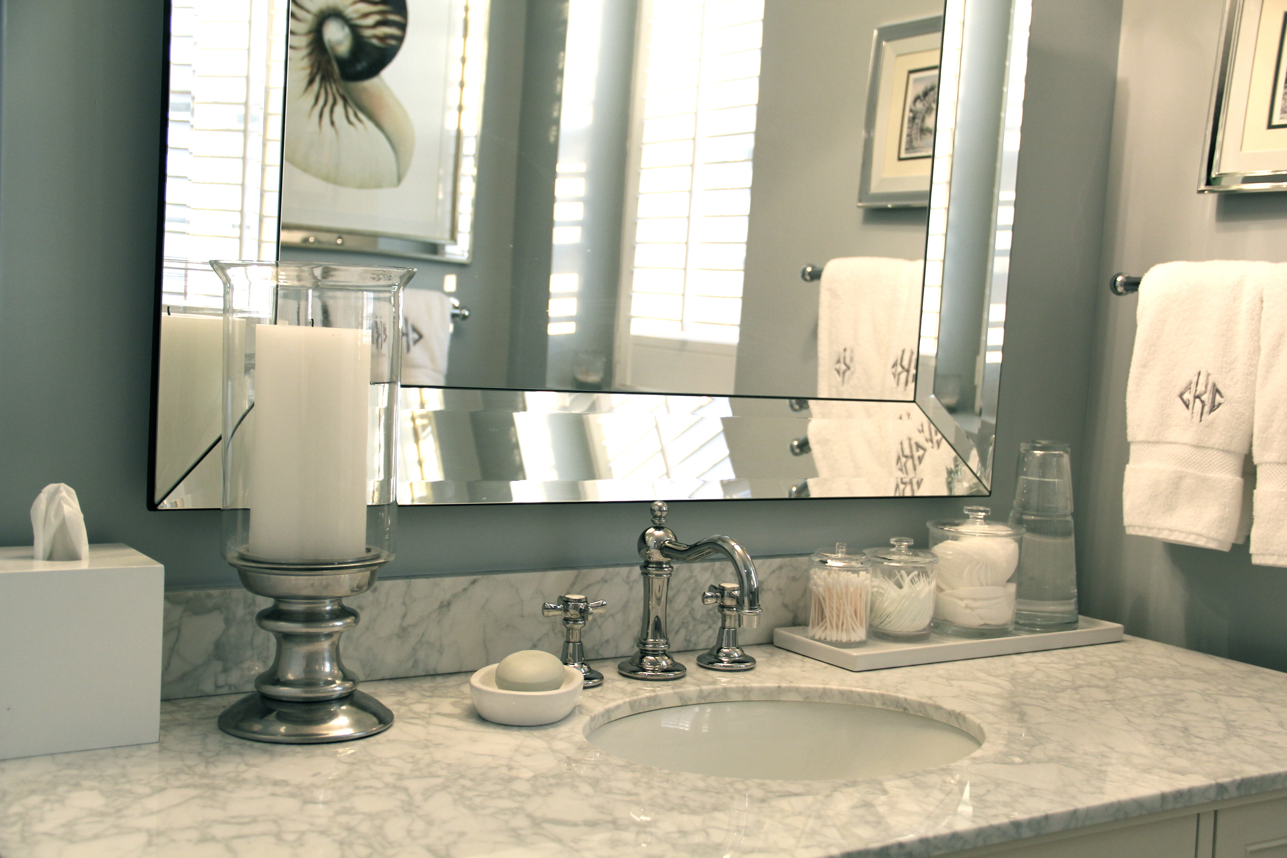 Bathroom Countertop Decor Redefining Domestics