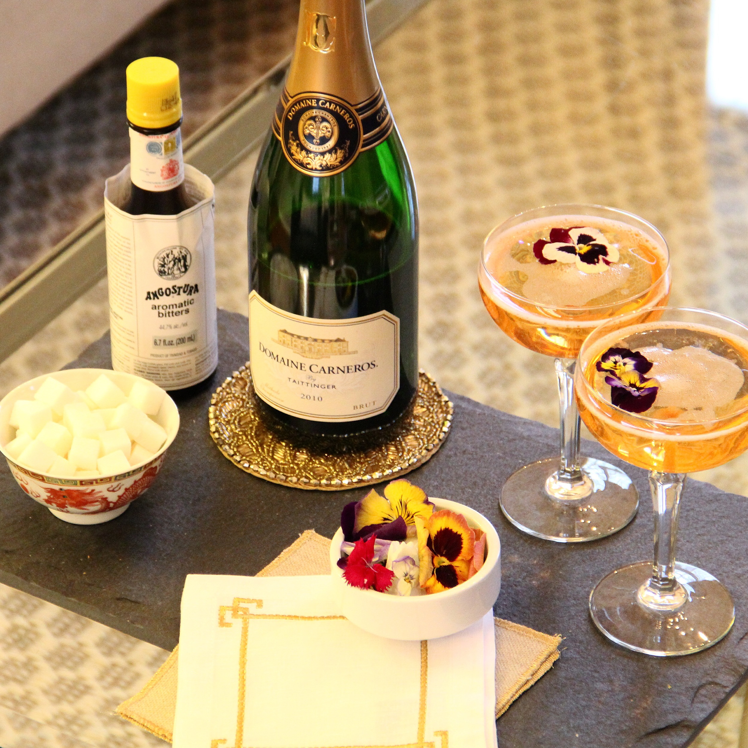Champagne Cocktail Setup.JPG