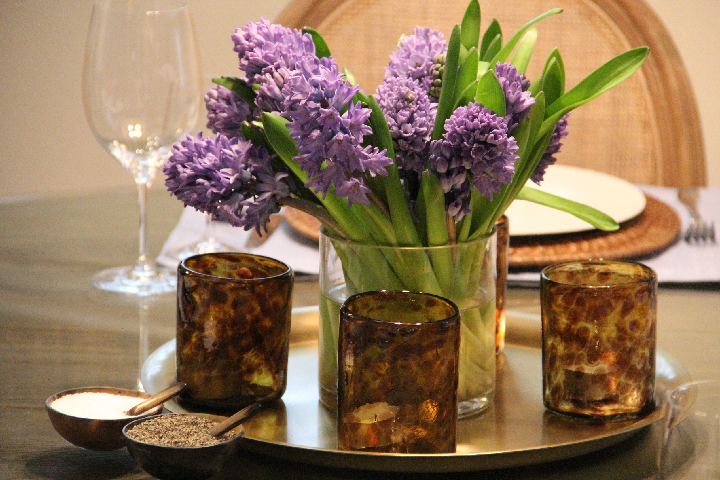 hyacinths centerpiece.JPG