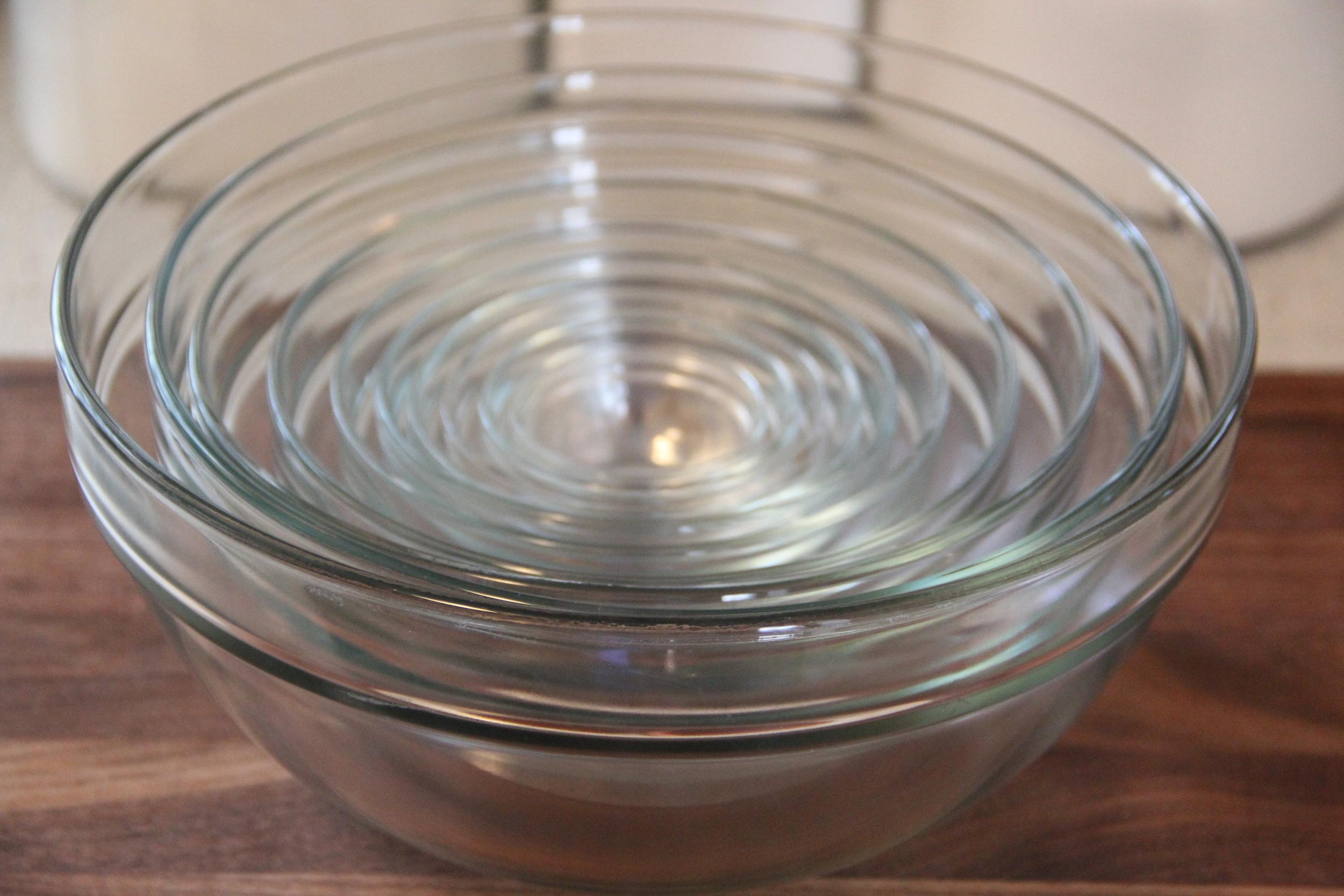 Williams Sonoma 10 Piece Mixing Bowls.JPG