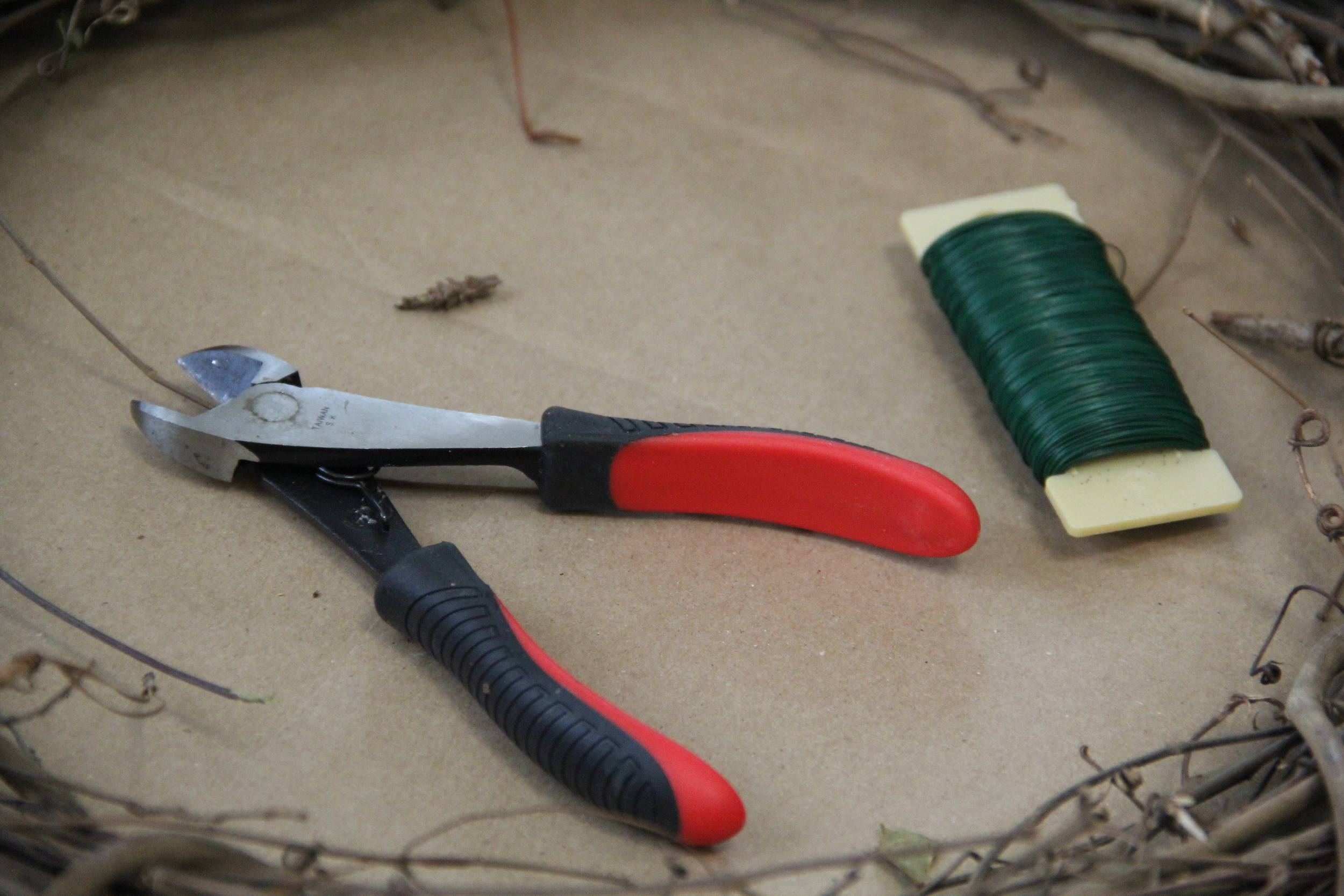 Wire Cutters and Wire.JPG