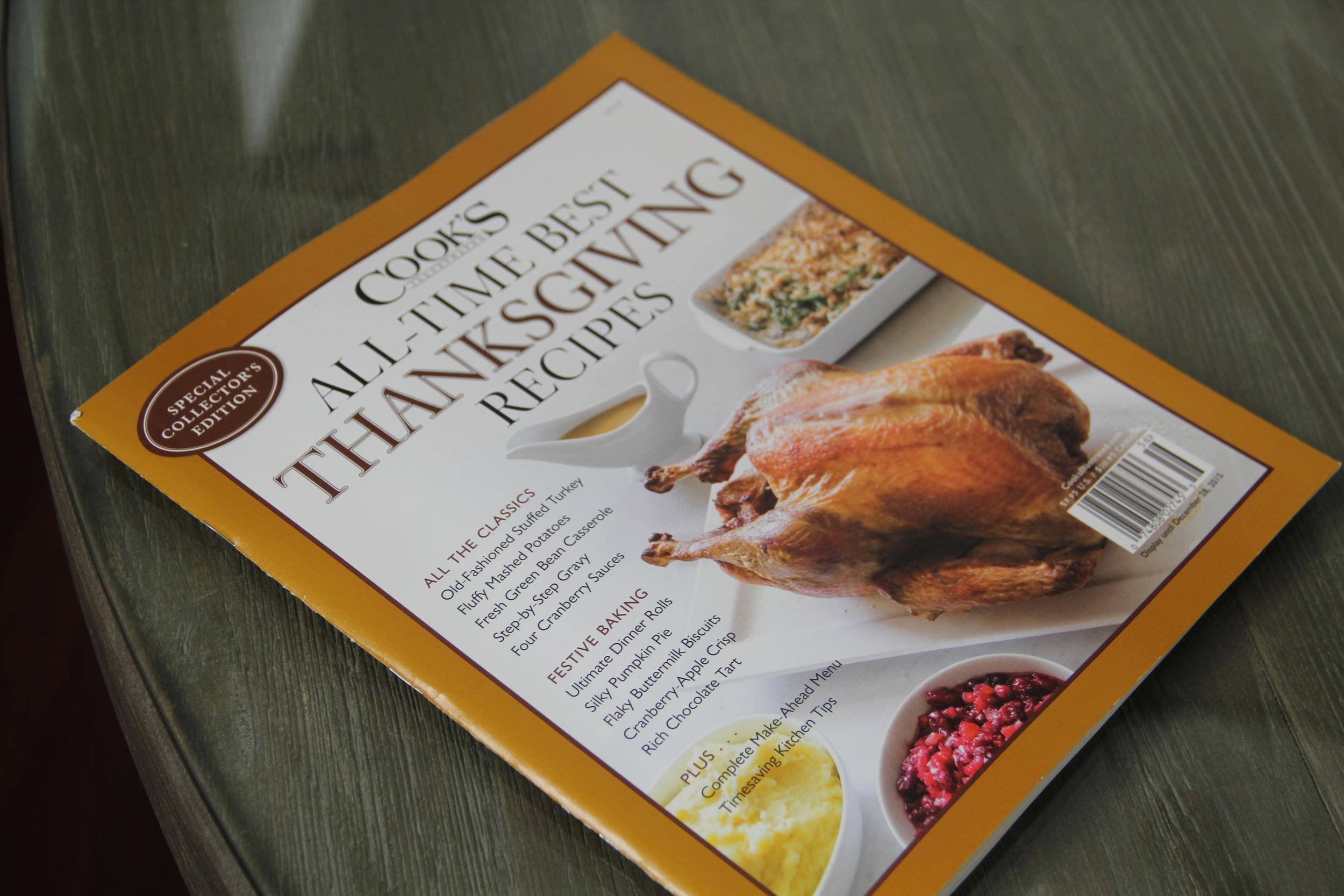 Cooks Illustrated Thanksgiving Recipes.JPG