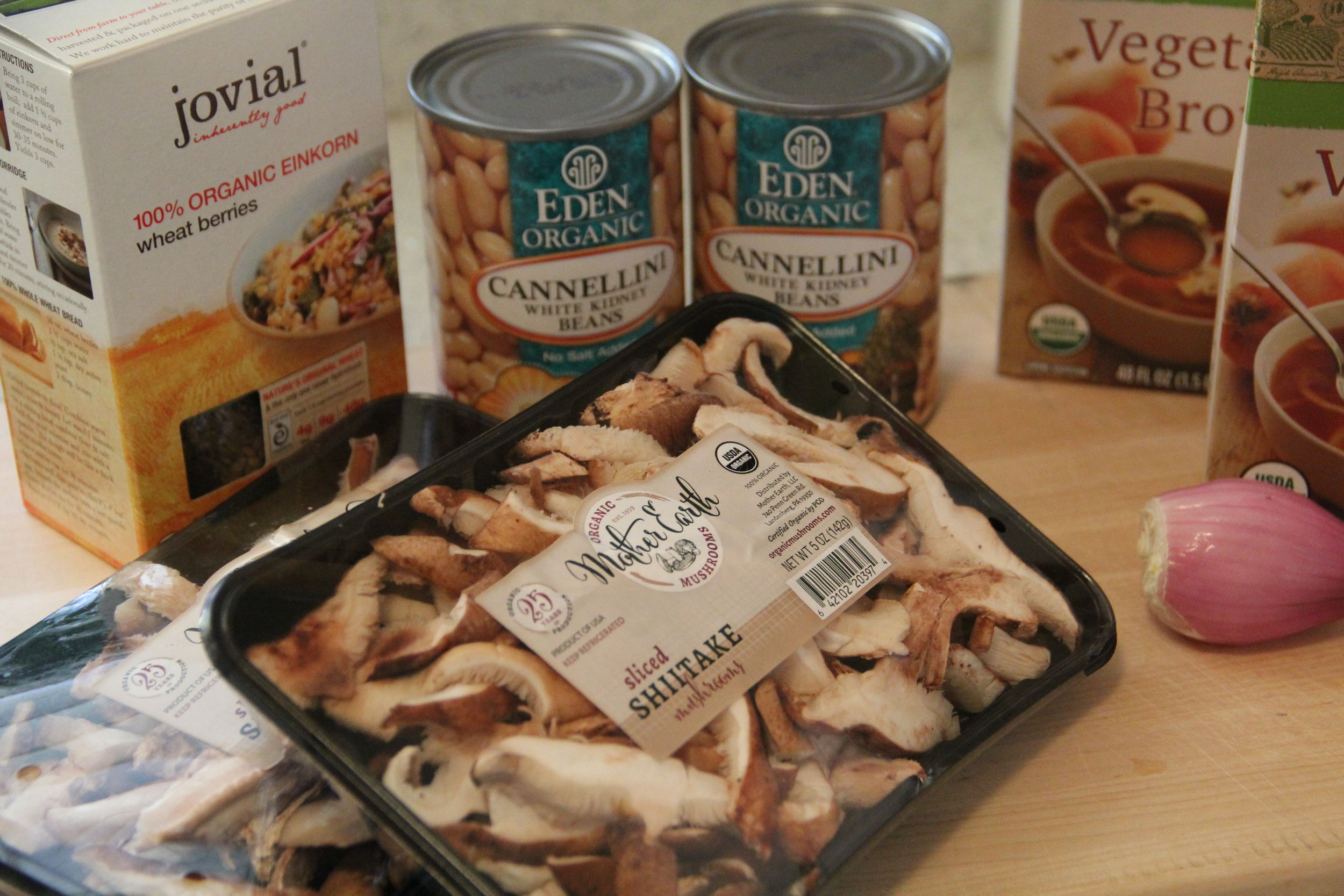 Soup Ingredients - White Bean and Wheat Berry Soup - Redefining Domestics 1.JPG