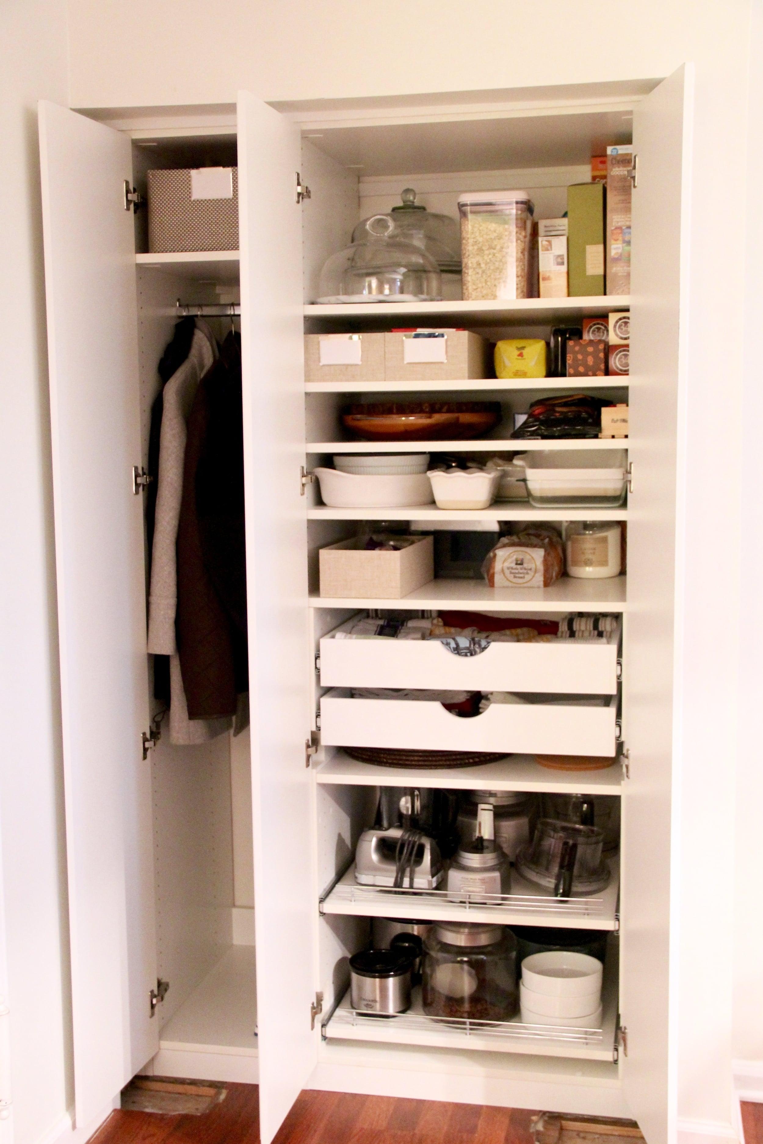 Closet Renovation Project Redefining Domestics