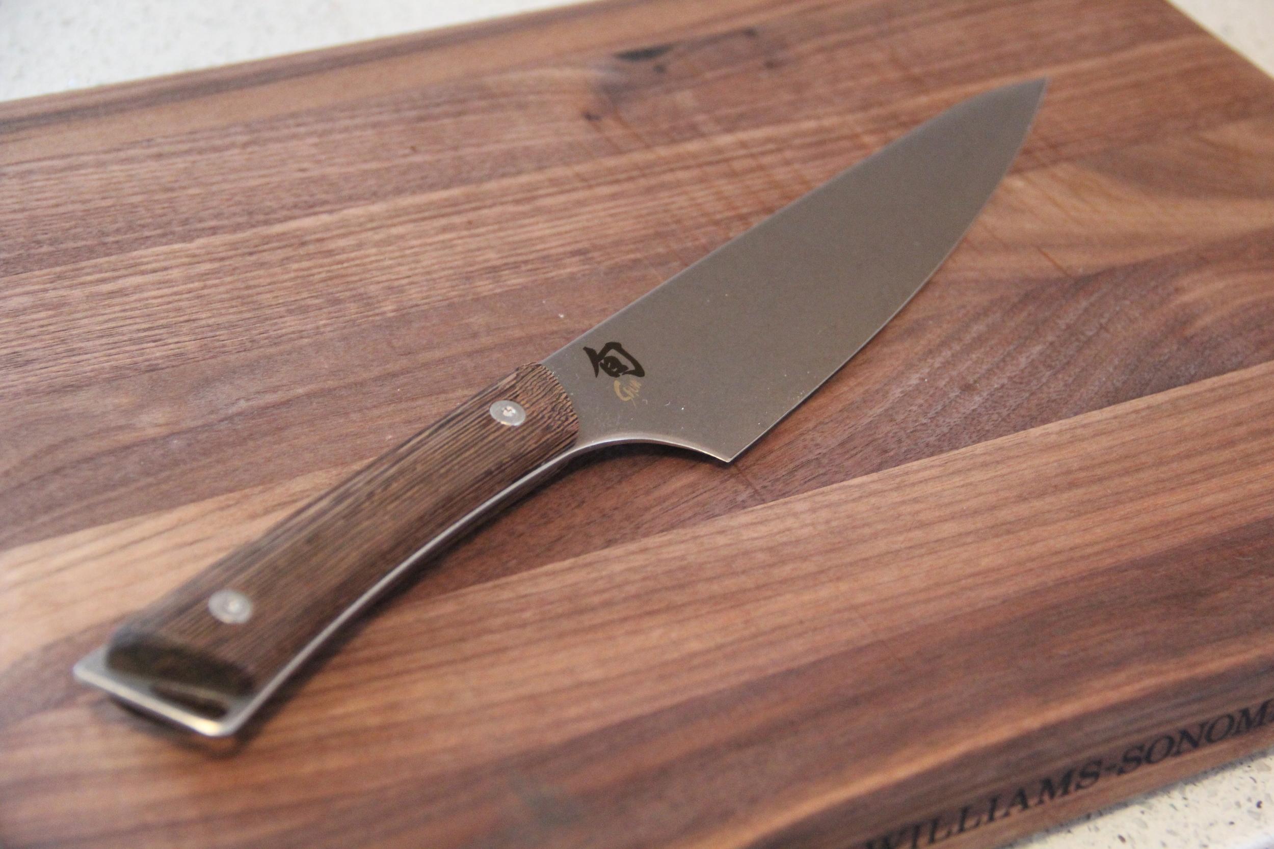 Shun Chefs Knife.JPG