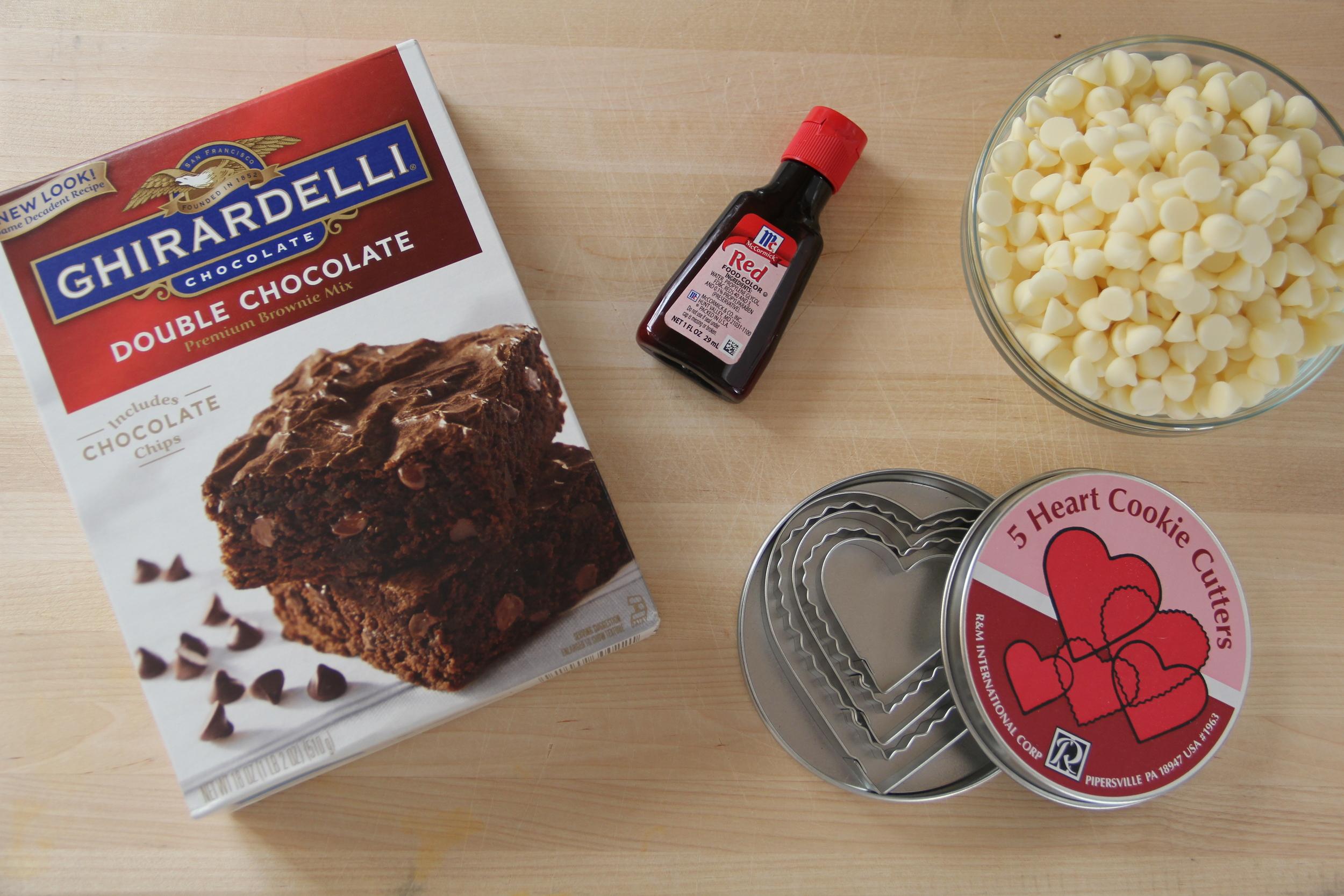 Ingredients for Heart Brownies.JPG