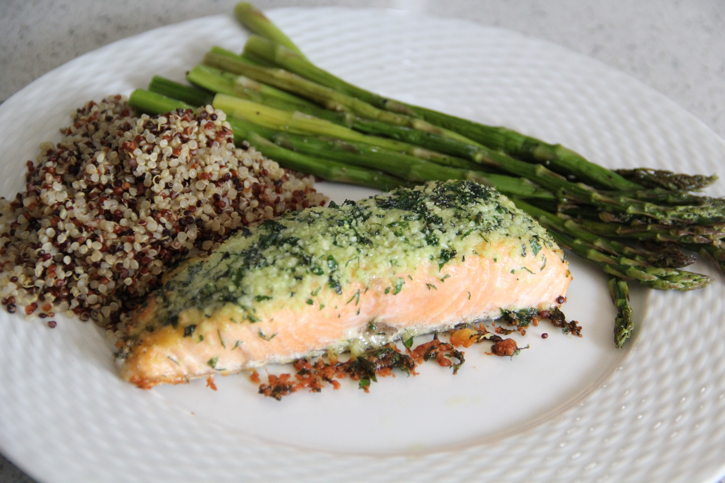 Parmesan and Herb Encrusted Salmon Recipe.JPG