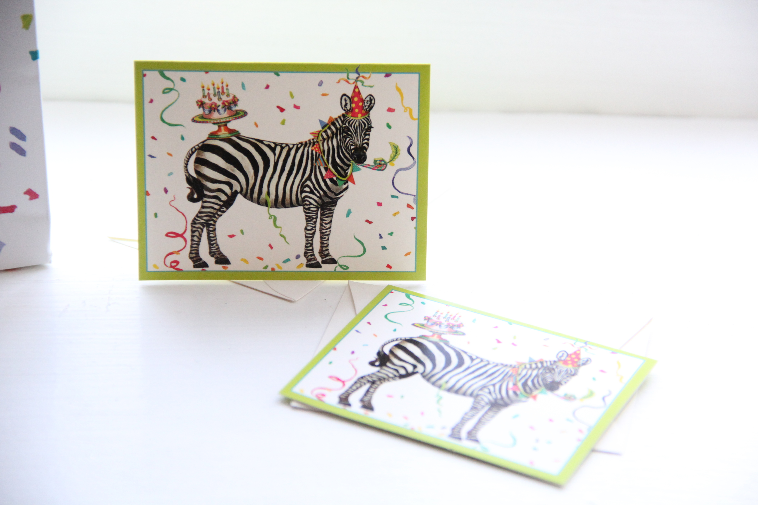 Caspari Party Animals Cards.JPG