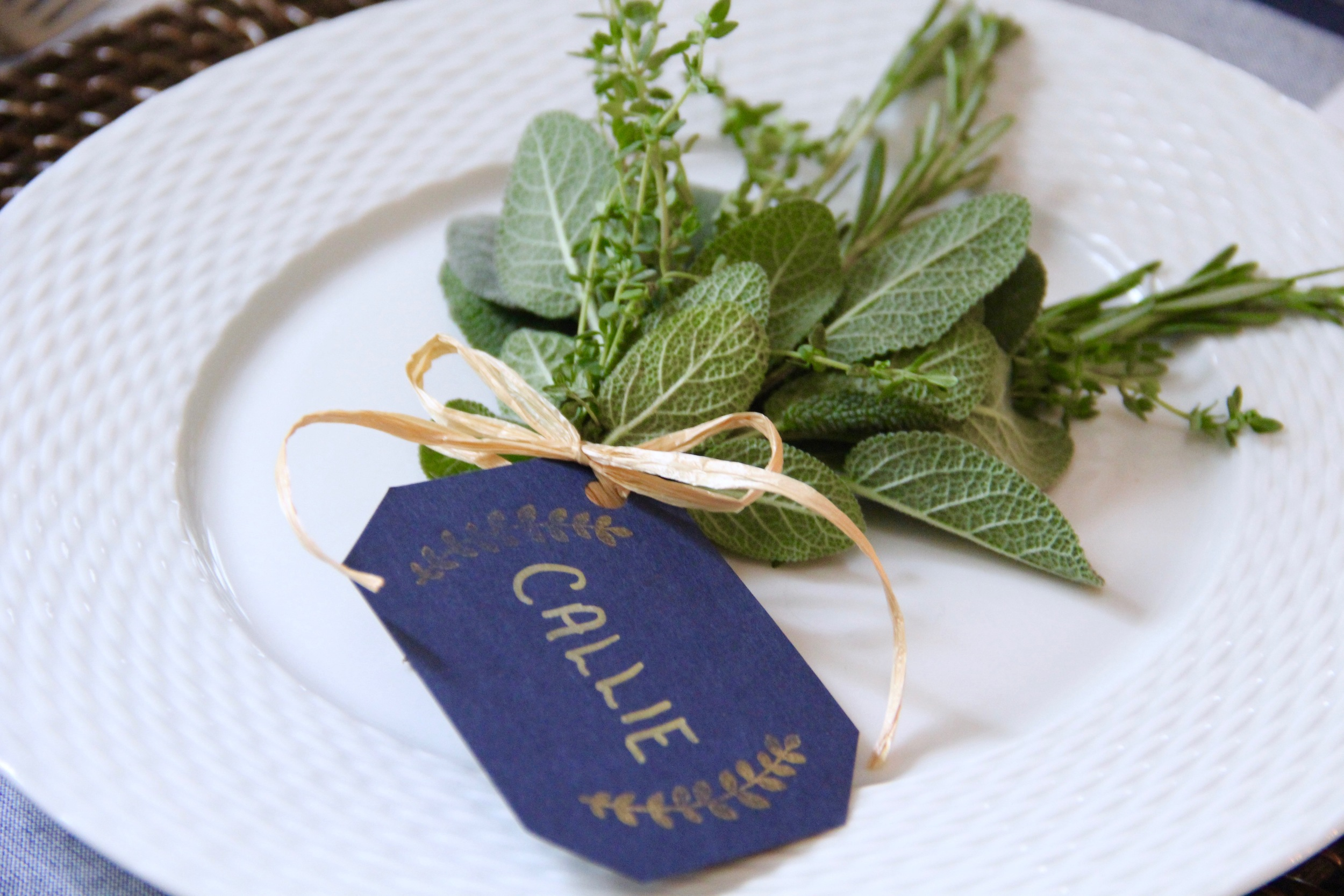 DIY Herb Bouquet placecards Step 4.jpg