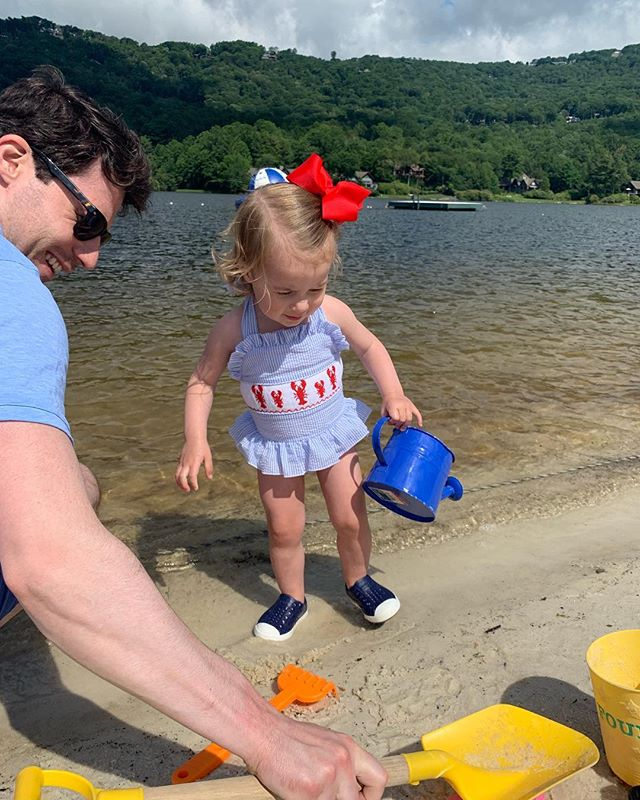 Fourth of July Vacay is already off to a fun start❤️💙⛱ #fourthofjuly #mountains #thesetwo #ggccsummer2019