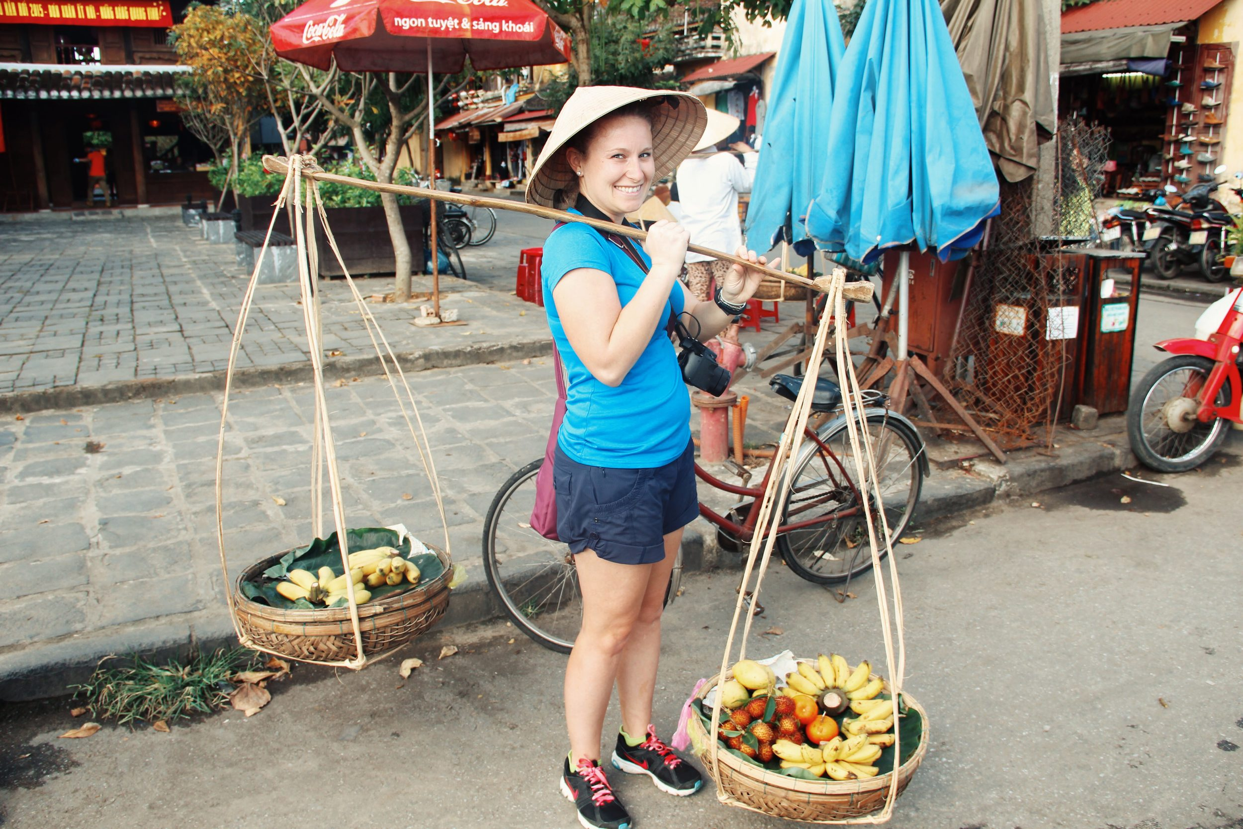 Getting authentic in Hoi An's market