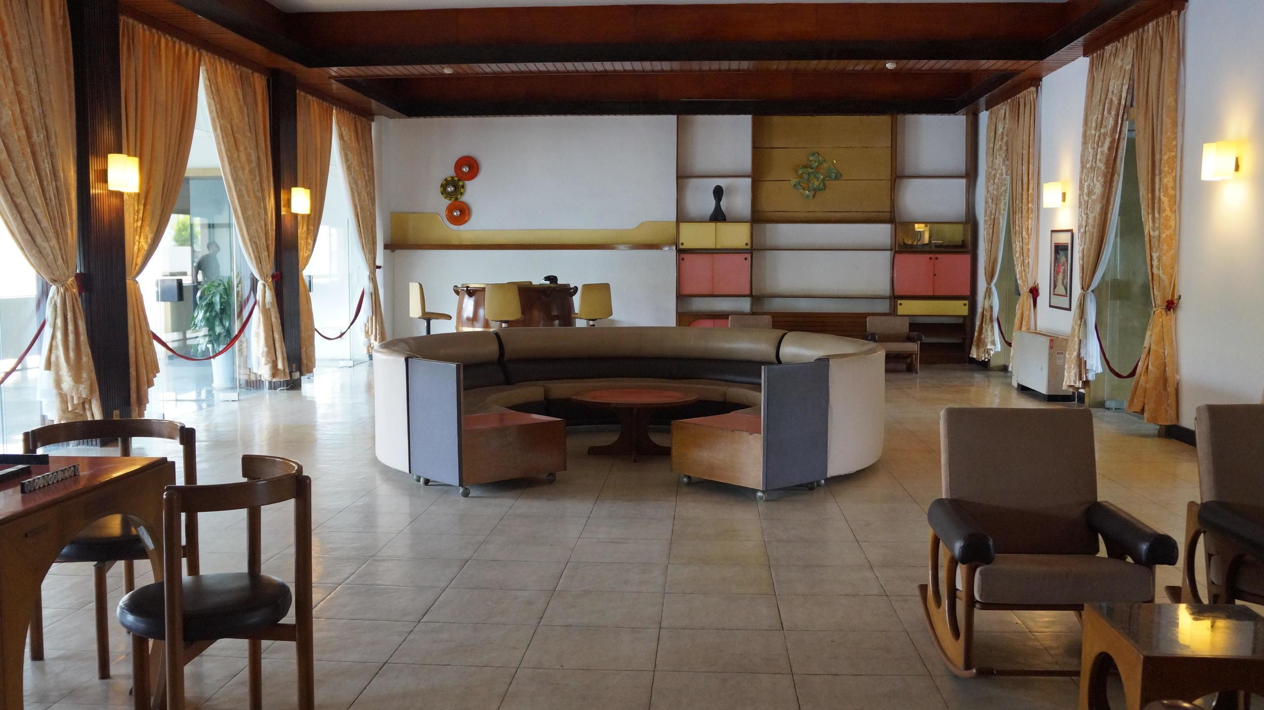 Decor in Saigon's Reunification Palace