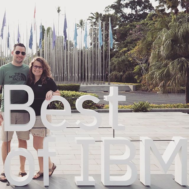 Celebrating Best of @IBM in Bali, Indonesia!