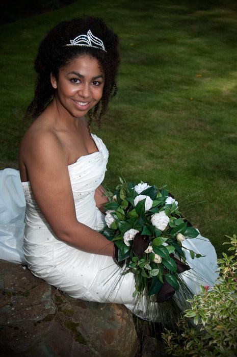 Designer bridal dresses from Oxfam