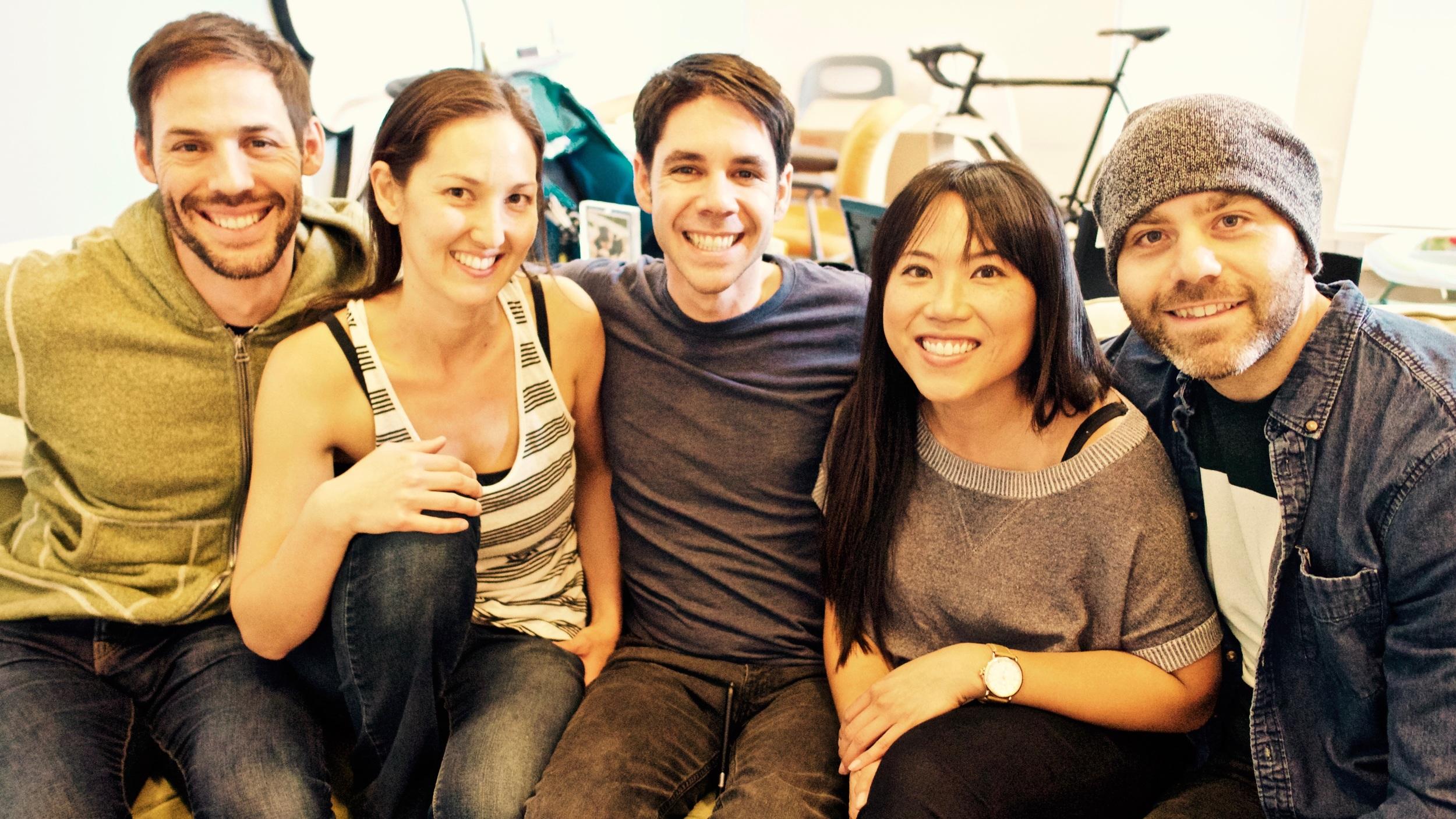 Producer meeting: Noah, Maya, Gabe, Bobbie, Alon