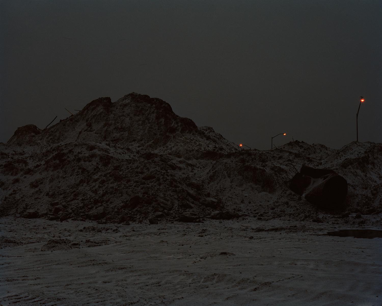 Snow Pile, Manhattan, KS