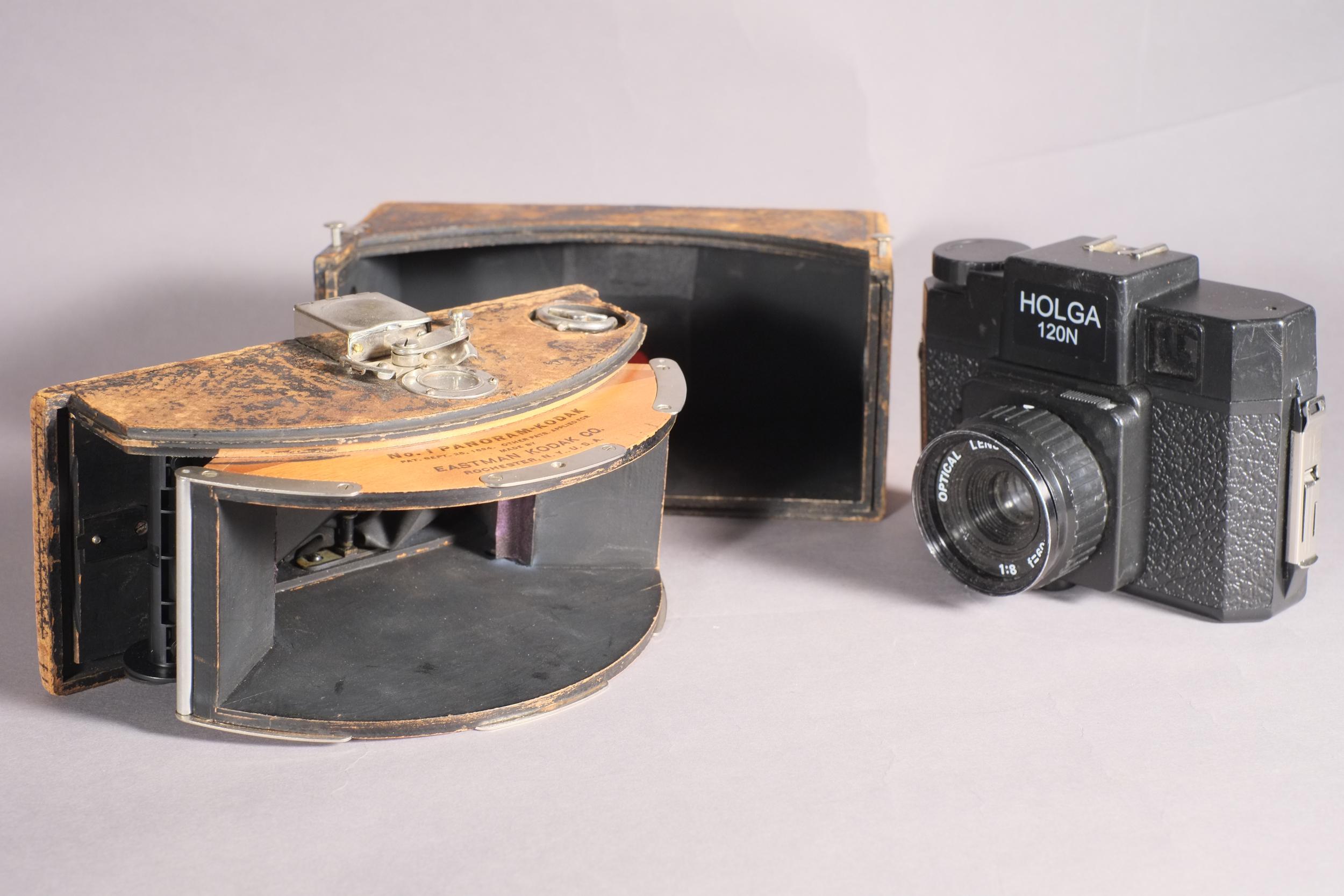 Holga and Kodak Panoram