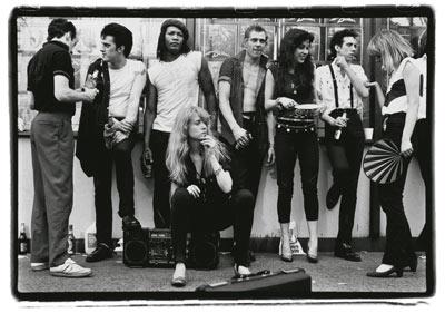 The Clash. Broadway. 1981. Amy Arbus.