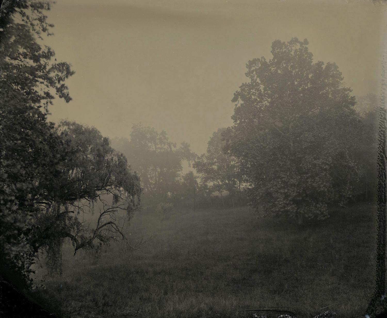 Receding Fog and Jump Mountain Road