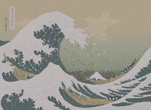 Gyre (After Hokusai),  Chris Jordan