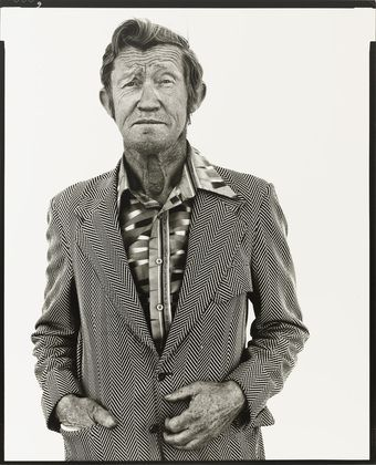 Carl Hoefert, unemployed black jack dealer, Reno, Nevada, August 30, 1983.