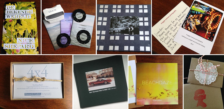 A sampling of artist promotional materials.