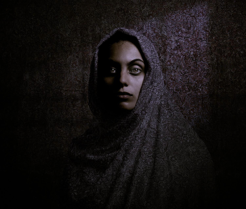 Wallportrait Anna