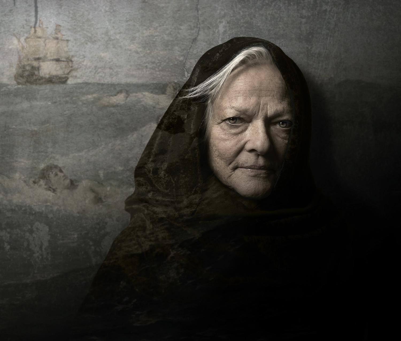 Wallportrait Marianne