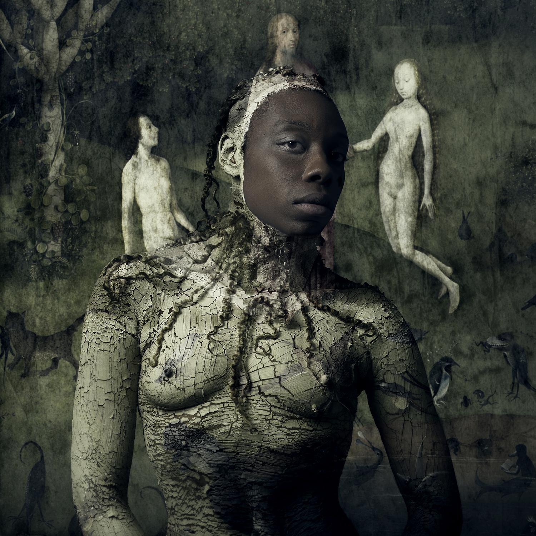Wallportrait Shoney, The Fall of Man
