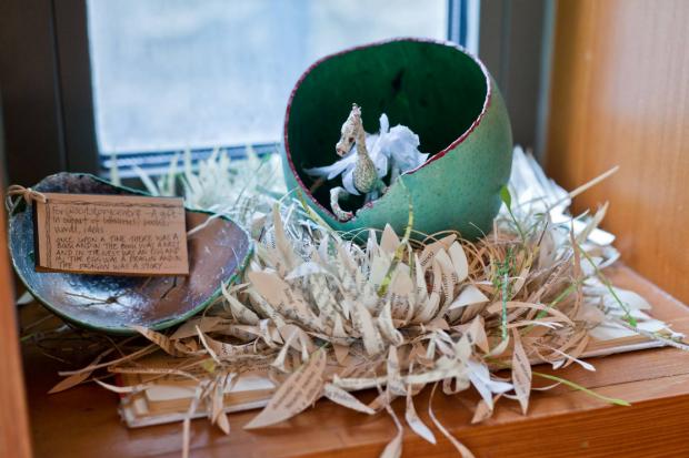 Dragon's Nest  found at the Scottish Storytelling Centre, July 2011