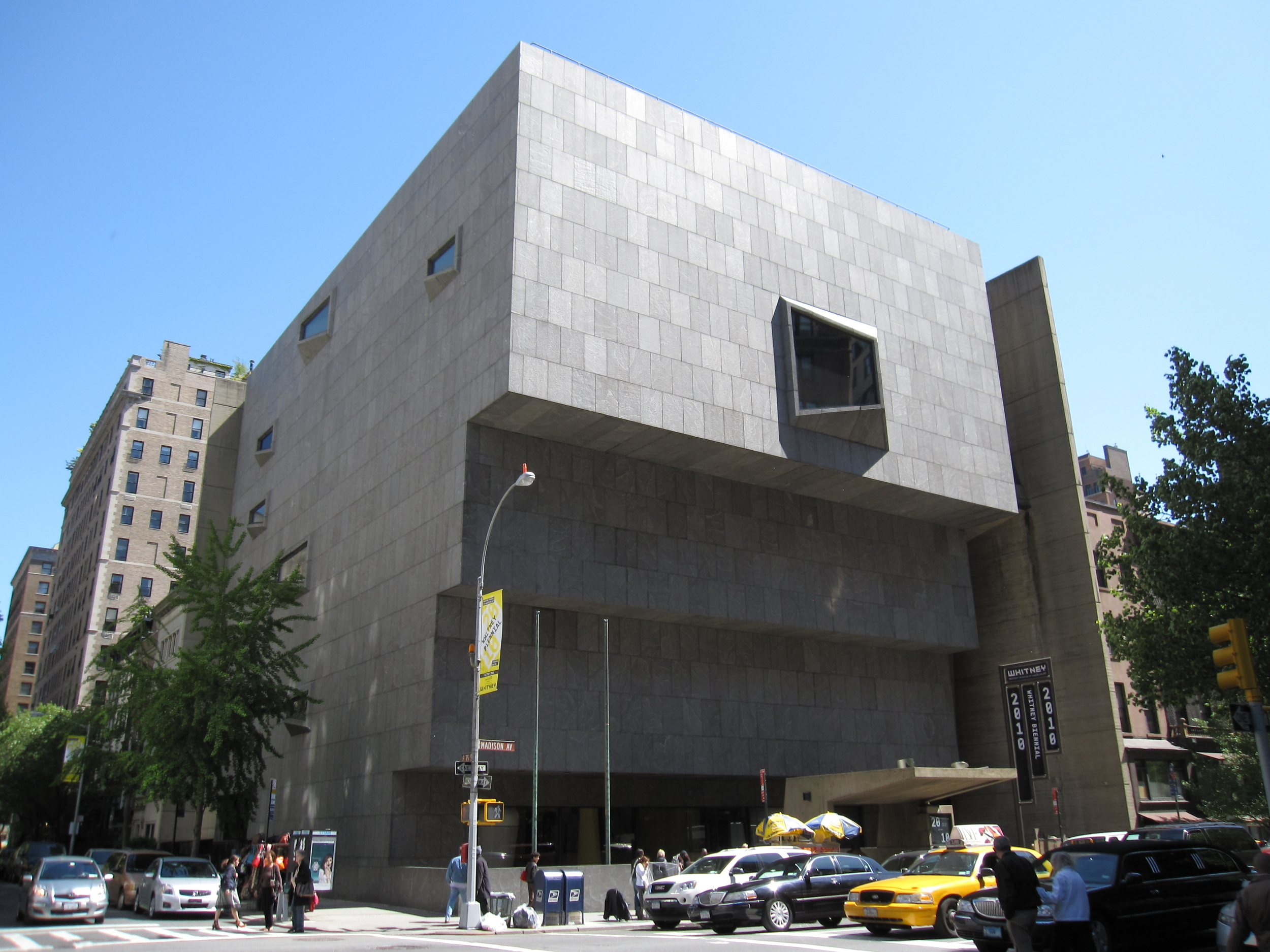 Whitney Museum of American Art  by Gryffindor, via  Wikimedia Commons