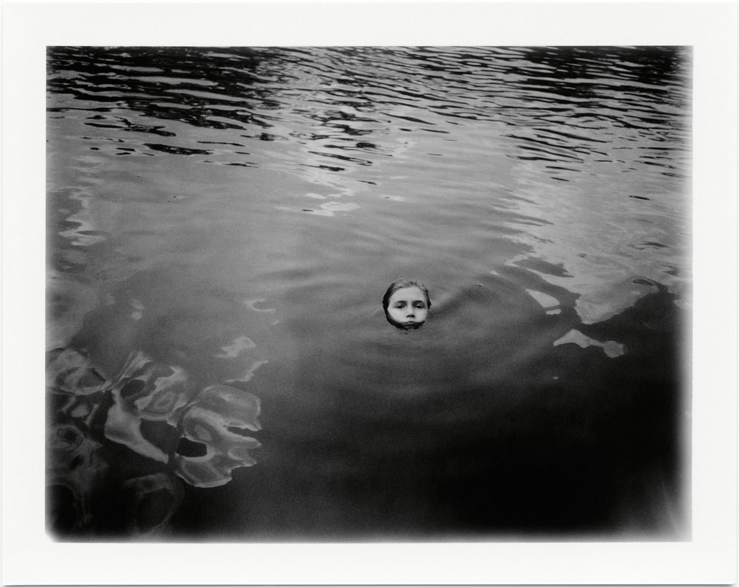 "Emergence, 2012, Gresham, South Carolina ; Polaroid Print, 3.25 x 4.25"" Fuji FP-3000B; Polaroid Land 100 camera  ©  Jennifer Ervin"