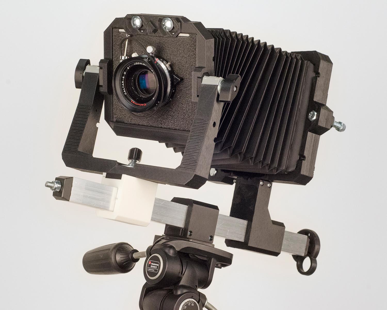 3D printed camera.